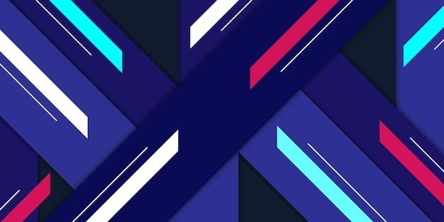Abstrakter geometrischer form-hintergrund Premium Vektoren