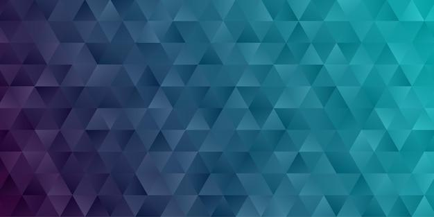 Abstrakter geometrischer hintergrund. polygon dreieck tapete in dunkelblauer farbe Premium Vektoren
