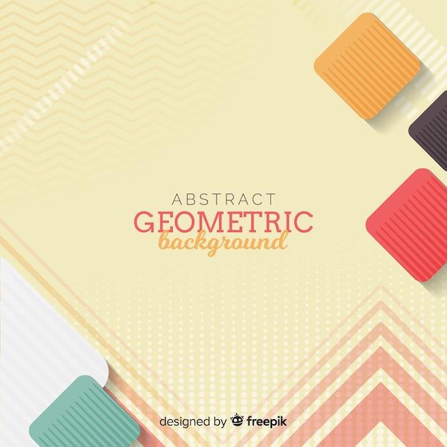 Abstrakter geometrischer hintergrund Kostenlosen Vektoren