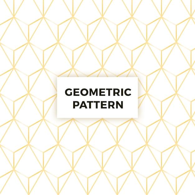 Abstrakter geometrischer musterhintergrund Kostenlosen Vektoren