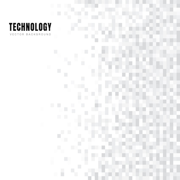 Abstrakter geometrischer weißer und grauer quadratmusterhintergrund Premium Vektoren