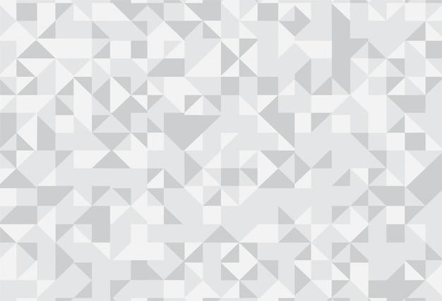 Abstrakter grauer geometrischer musterhintergrund Kostenlosen Vektoren