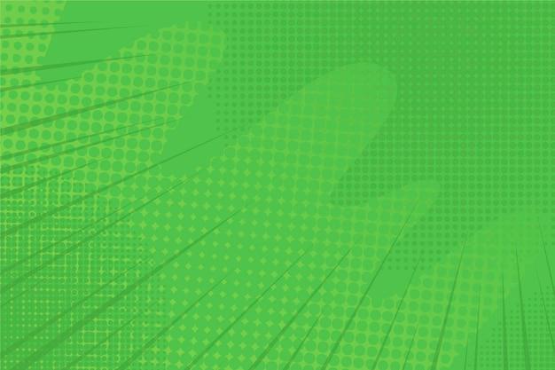 Abstrakter grüner halbtonhintergrund Kostenlosen Vektoren