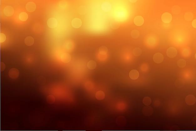 Abstrakter himmelhintergrund mit unschärfe bokeh lichteffekt. Premium Vektoren