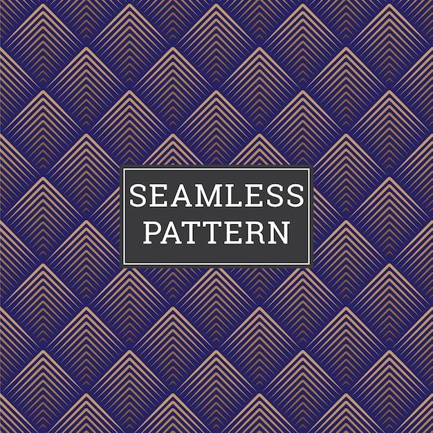 Abstrakter hintergrund art deco seamless pattern Premium Vektoren