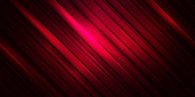 Abstrakter hintergrund des streifenmusters. rote farblinie Premium Vektoren