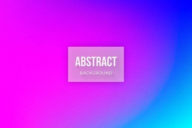 Abstrakter hintergrund in neonfarben Kostenlosen Vektoren