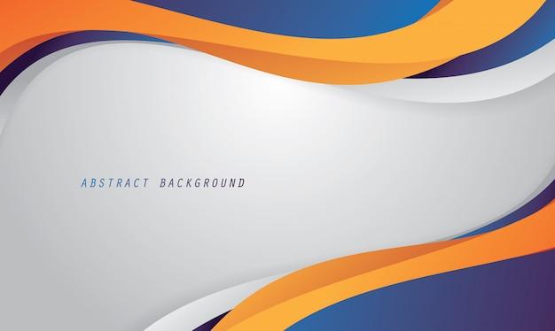 Abstrakter hintergrund mit flüssiger farbe Premium Vektoren