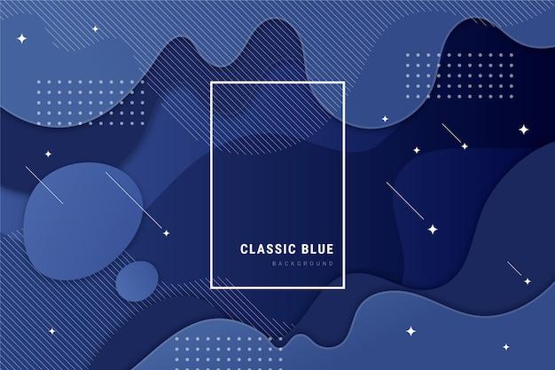 Abstrakter klassischer blauer hintergrund Kostenlosen Vektoren