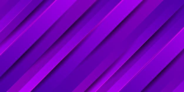 Abstrakter lila streifenhintergrund mit glatter moderner textur Premium Vektoren