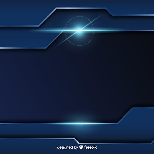 Abstrakter metallischer blauer beschaffenheitshintergrund Kostenlosen Vektoren