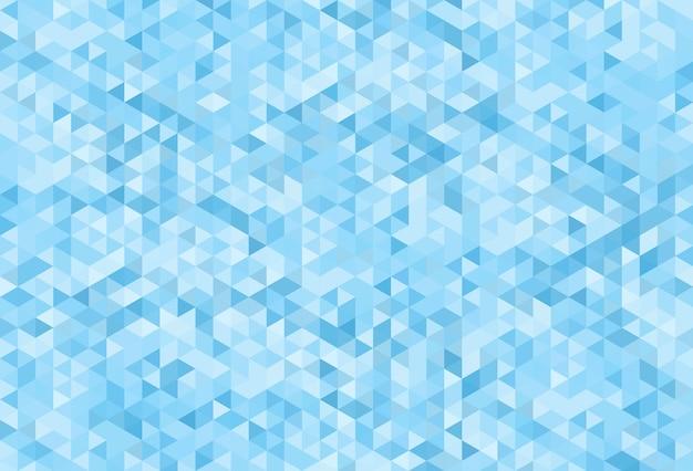 Abstrakter moderner geometrischer blauer hintergrund. Premium Vektoren