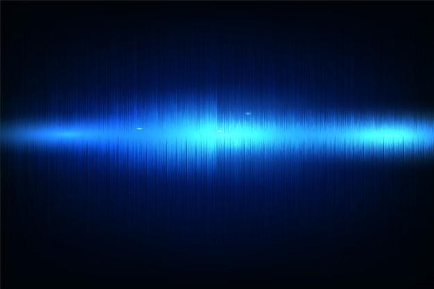 Abstrakter musikentzerrer abstrakter entzerrerhintergrund-neonwellen Premium Vektoren