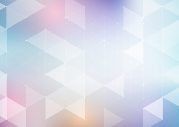 Abstrakter niedriger polyauslegunghintergrund Premium Vektoren