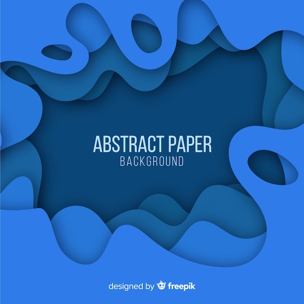 Abstrakter papierhintergrund Kostenlosen Vektoren