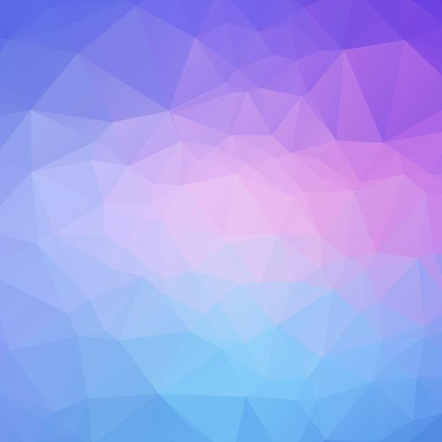 Abstrakter polygonhintergrund Premium Vektoren