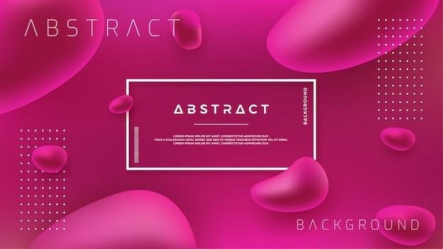 Abstrakter purpurroter flüssiger flüssiger vektorhintergrund. Premium Vektoren