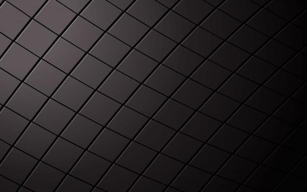 Abstrakter quadratischer schwarzer hintergrund. Premium Vektoren