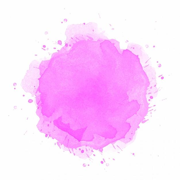 Abstrakter rosa aquarellspritzenhintergrund Kostenlosen Vektoren