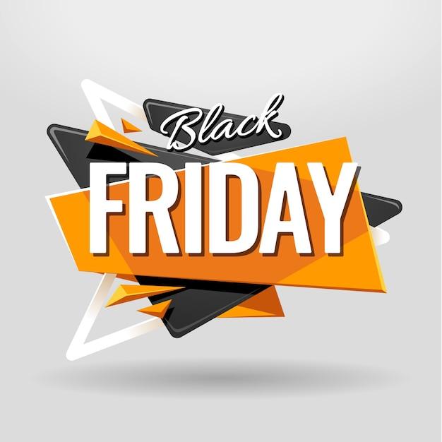Abstrakter schwarzer Freitag-Hintergrund Kostenlose Vektoren