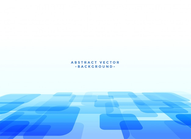 Abstrakter techno slyle blauhintergrund Kostenlosen Vektoren