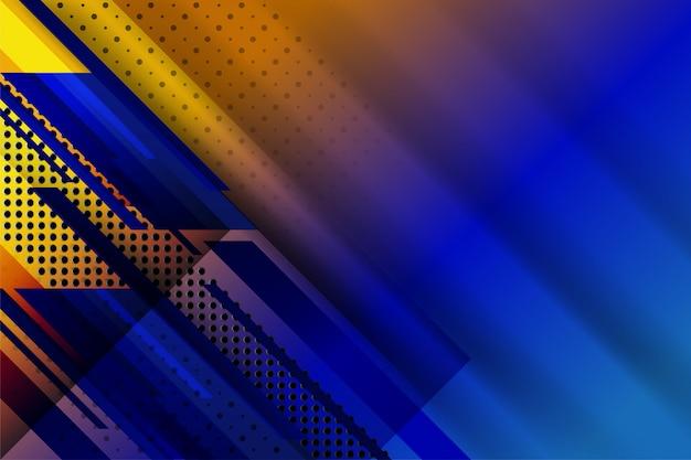 Abstrakter technologiehintergrund mit punktierter geometrischer beschaffenheit Premium Vektoren