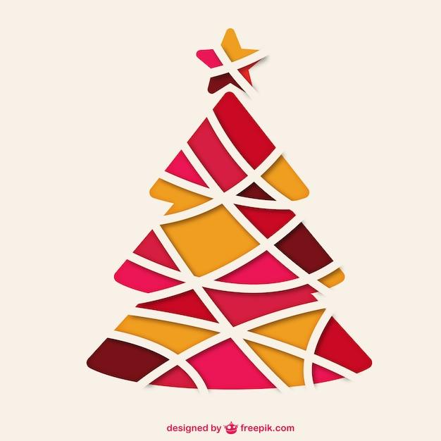 abstrakter weihnachtsbaum vektor download der. Black Bedroom Furniture Sets. Home Design Ideas