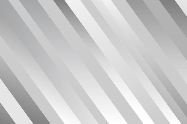 Abstrakter weißer hintergrund mit streifen. Premium Vektoren