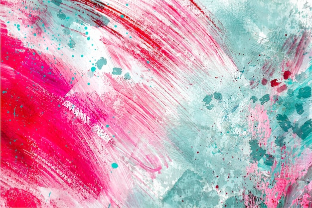 Abstraktes aquarellmuster Kostenlosen Vektoren