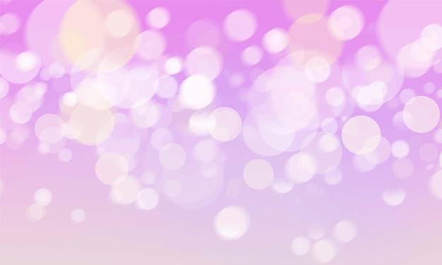 Abstraktes bokeh unscharfe leuchtentapete Kostenlosen Vektoren