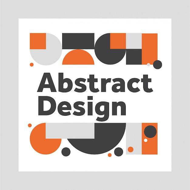 Abstraktes design Premium Vektoren
