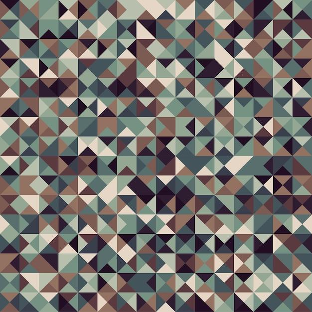 Abstraktes geometrisches hintergrundmosaik Premium Vektoren