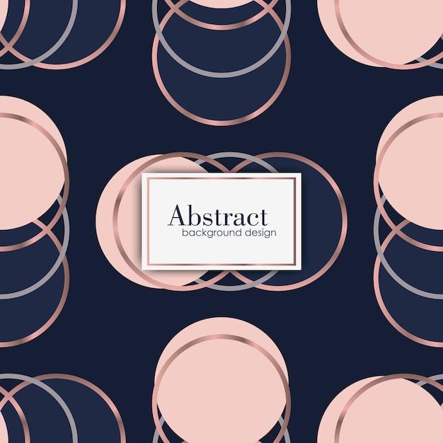 Abstraktes geometrisches Luxusmuster. Mode Hintergrund Kostenlose Vektoren