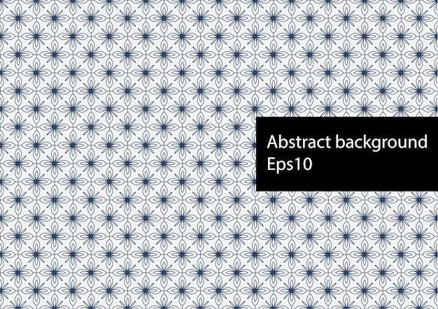 Abstraktes geometrisches muster Premium Vektoren