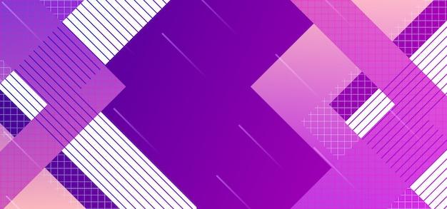 Abstraktes hintergrunddesign, helles plakat, ultraviolette purpurrote farben der fahne Premium Vektoren