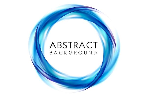 Abstraktes hintergrunddesign im blau Kostenlosen Vektoren