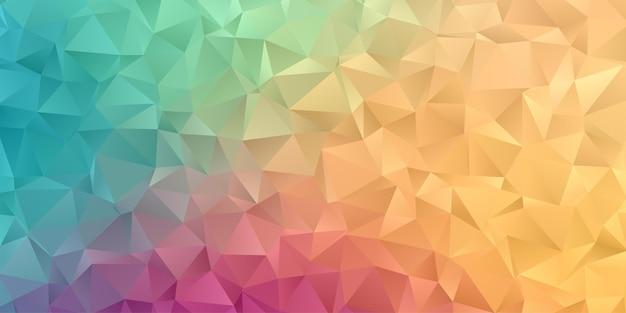 Abstraktes hintergrundtapete des geometrischen polygons Premium Vektoren