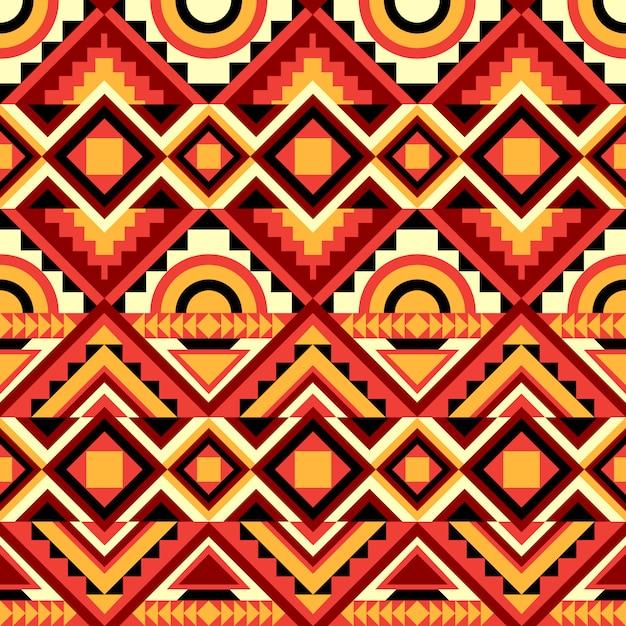 Abstraktes kaleidoskop-nahtloses muster. Kostenlosen Vektoren