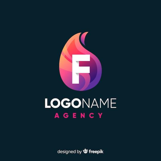 Abstraktes logo Kostenlosen Vektoren