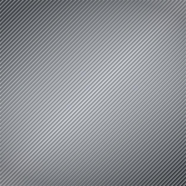 Abstraktes metall gestreifter hintergrund, illustration des vektors eps10 Premium Vektoren