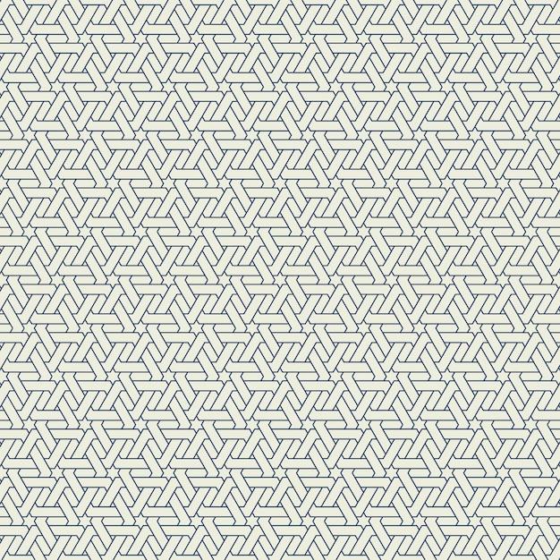 Abstraktes modernes hexagonmusterdesign des nahtlosen hintergrundes. illustrationsvektor eps10 Premium Vektoren