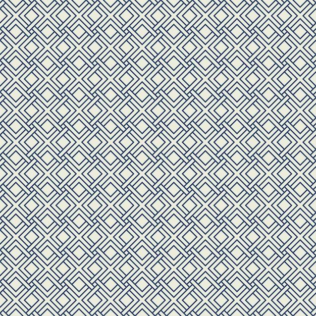 Abstraktes modernes quadratisches musterdesign des nahtlosen hintergrundes. Premium Vektoren