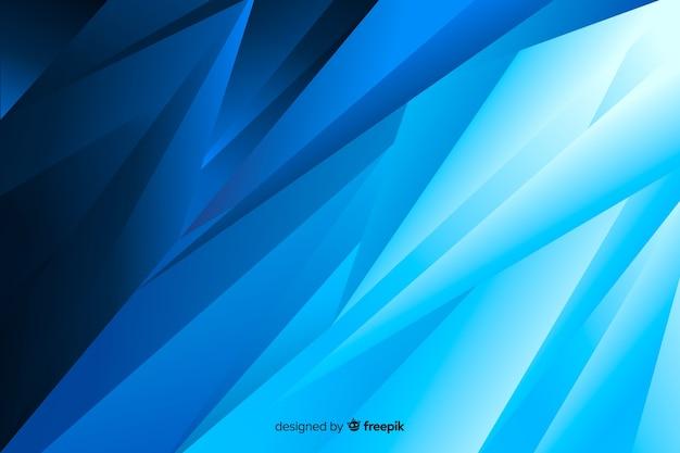 Abstraktes rechtes schräges blau formt hintergrund Kostenlosen Vektoren