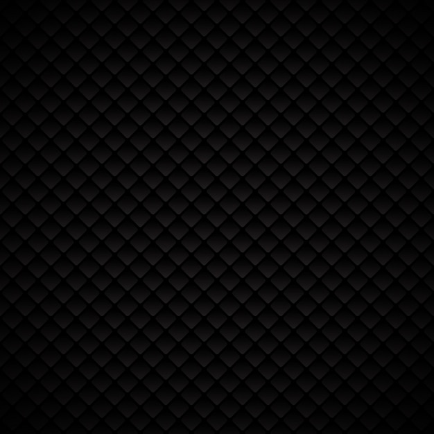 Abstraktes schwarzes geometrisches mustermuster der quadrate Premium Vektoren