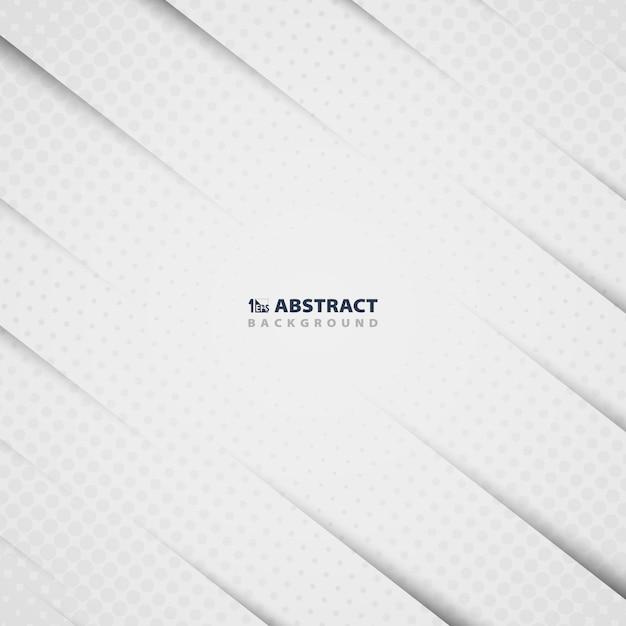 Abstraktes weißbuchschnittmuster Premium Vektoren