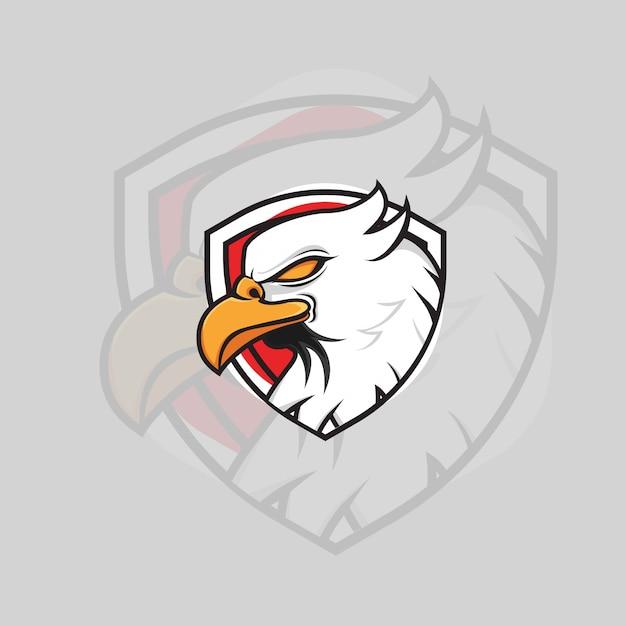 Adler-logo Premium Vektoren
