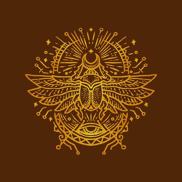 ägyptische Käfer
