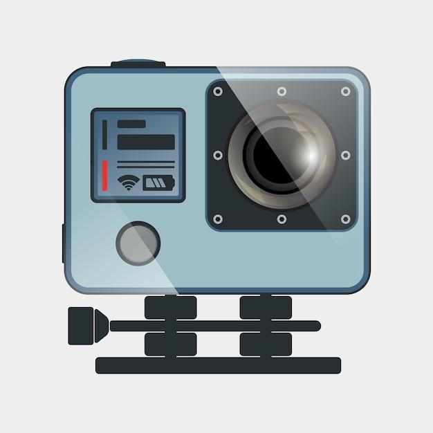 Aktion kamera-symbol Premium Vektoren