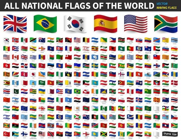 Nationalflaggen Der Welt