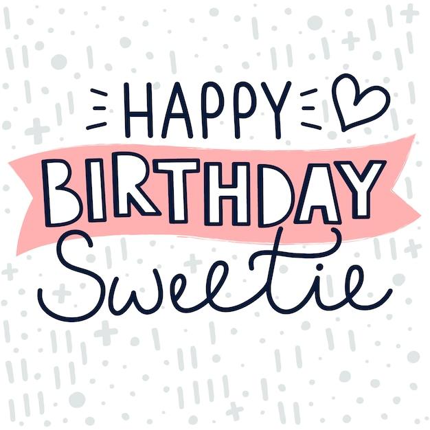 Alles Gute Zum Geburtstag Hand Schriftzug 12